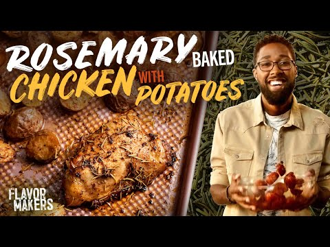 Baked Rosemary Chicken   Flavor Makers Series   McCormick