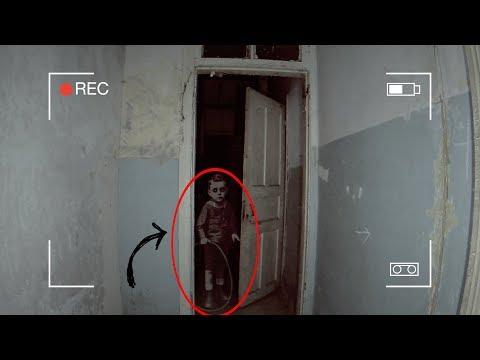 Призрак ученика снят на камеру? Оставил камеры в заброшенной школе