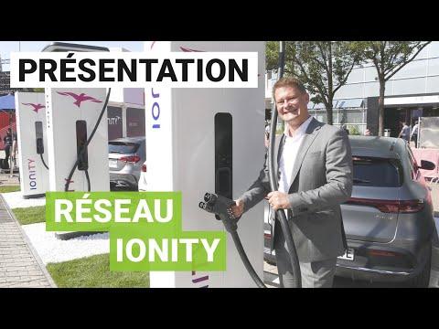 Ionity dévoile ses nouvelles bornes de recharge ultra-rapides