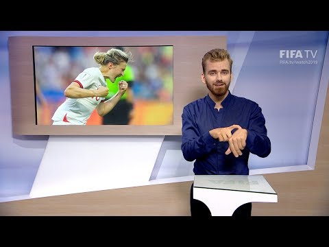 Matchday 19 - France 2019 - International Sign Language for the deaf and hard of hearing