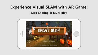 [MAXST AR & SLAM] SLAM Map Sharing & Multiplayer AR Game Demo