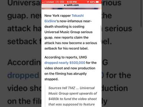 Takasha/Kanye/Nikki Shooting Cost Universal Music Group Almost $500,000 They'll Have To Eat Mp3
