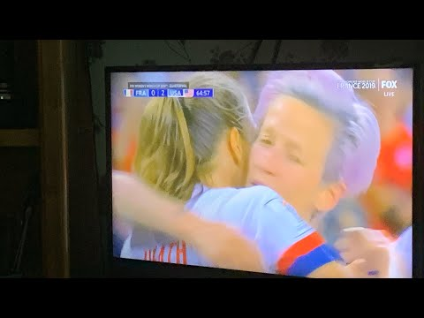 USA Beats France Dirty Play In Women's World Cup Knockout Game 2019