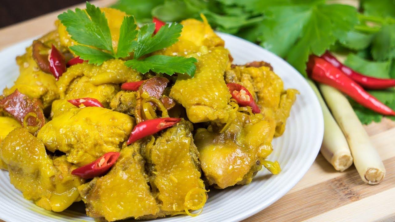 ✅ GÀ KHO SẢ NGHỆ | Cách nấu gà kho sả ớt với nghệ tươi phơi khô, tốt cho bà bầu BY CÔ BẢY