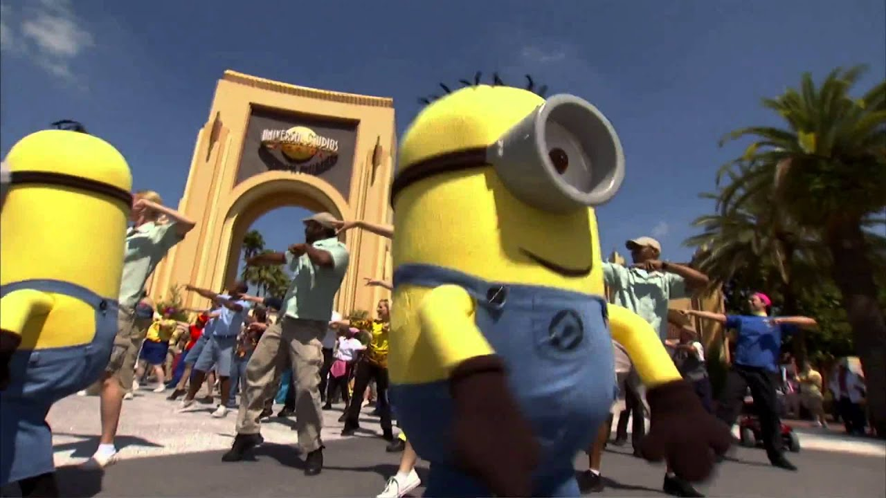 Minions Boggie Down For There New Attraction Coming To Universal Studios  Orlando