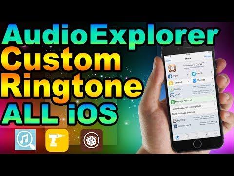 How To Set Any iPhone Sound as Your Ringtone   Tweak AudioExplorer (Part1)