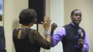 prophetic moment with bishop prophet antoine m jasmine dr e faye williams