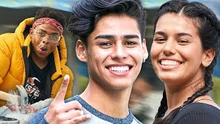 Who will break the ice FIRST?! w/ Ava Jules & Andrew Davila | The Carpe Challenge: Los Angeles