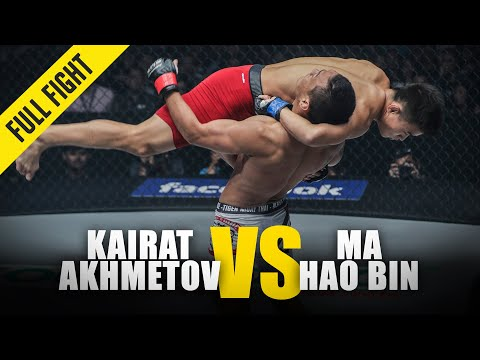 Kairat Akhmetov vs. Ma Hao Bin | ONE Full Fight | September 2018