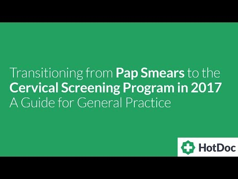 Transitioning From Pap Smears To The Cervical Screening Program In 2017: General Practice
