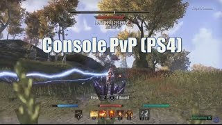 ESO PvP on Console Preview (PS4 Gameplay)