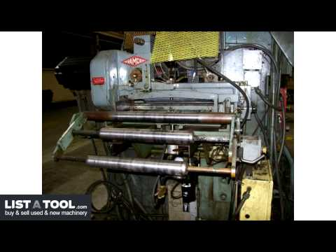 Bliss HP2-200-48-36 High Speed Production Press