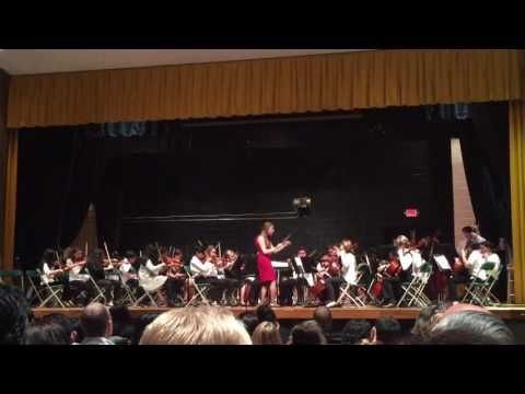 Frelinghuysen Middle School 7th Grade Orchestra-Angels in the Midwinter 12/12/16