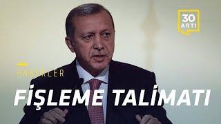 Erdoğan'dan fişleme talimatı…Futbolculara hapis talebi…Maraş'ta sel…Emekli mağdur…Delilsiz suçlama…