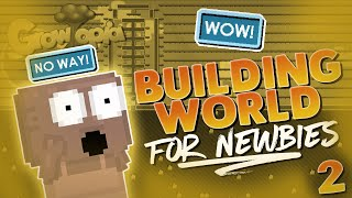 Helping Noobs 2- Building Farm/Storage World For Newbie | Growtopia