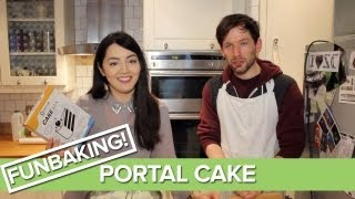 Portal Cake Mix Unboxing - We Bake The Portal Cake