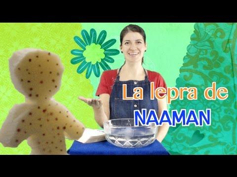La lepra de Naamám. Devocional para niños. Amy & Andy. ESCUELA DOMINICAL