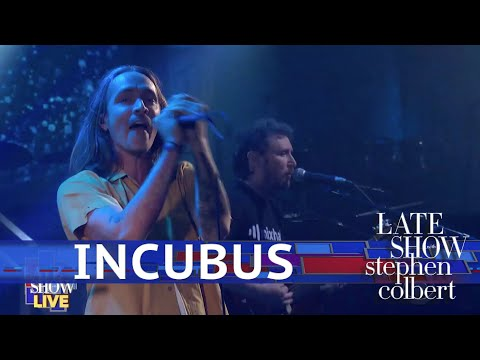 Pipes - Incubus Performs 'Drive' LIVE On The Late Show