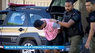 Polícia Civil prende integrantes de quadrilha no aglomerado da Serra (BH)