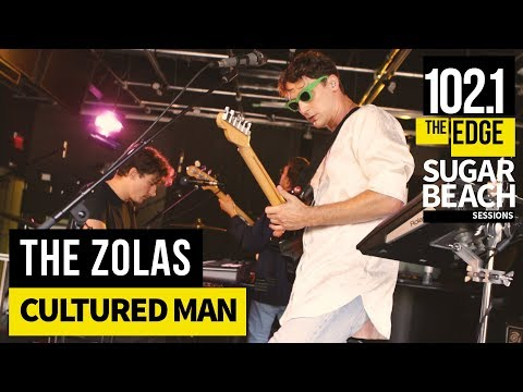 The Zolas - Cultured Man (Live at the Edge)