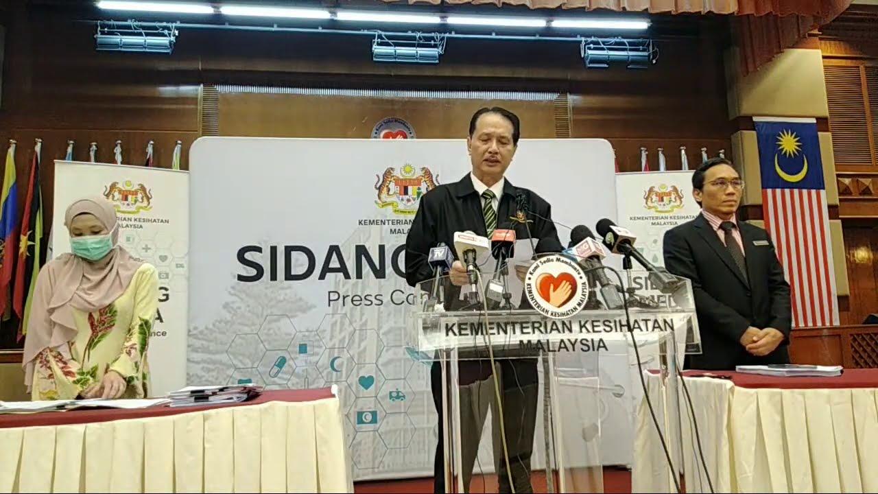 LIVE: 6 Ogos 2020 - Sidang Media Perkembangan COVID-19 Di Malaysia