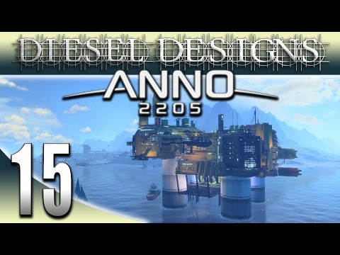 Anno 2205 Gameplay: EP15: Trading, Computers, and OIL! ! (Futuristic City Building Series 1080p)