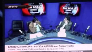 ING. CARLOS ARANA EN RADIO SAN BORJA - 08.08.2016