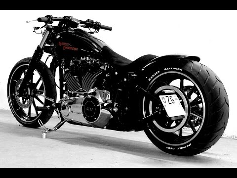 harley davidson breakout softail custom umbau youtube. Black Bedroom Furniture Sets. Home Design Ideas
