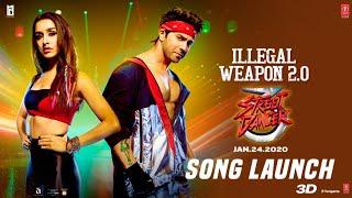 LIVE : Illegal Weapon 2.0 Song | Street Dancer 3D