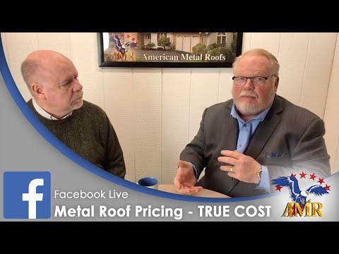METAL ROOF Pricing Secrets REVEALED! Learn The TRUE COST of Metal Roofing!