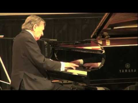 Maestro Byron Janis Plays Live Chopin Waltz Op. 69, No. 1 & Nocturne E major Op. 62, No. 2