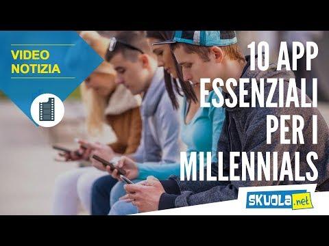 Millennials, ecco le 10 app che ritengono indispensabili