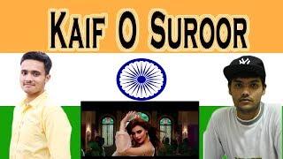 Indian react on Kaif O Suroor | Aima Baig | Na Maloom Afraad 2
