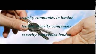 Security Companies In London