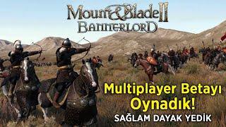 Mount & Blade II: Bannerlord'un Multiplayer Betasını Oynadık
