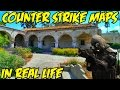 Counter Strike (CS:GO) Maps In REAL LIFE!?!