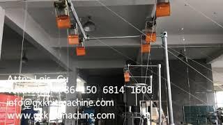 Honeycomb Plastic Kitchen Scrubber Scouring Pad Scourer Knitting Machine
