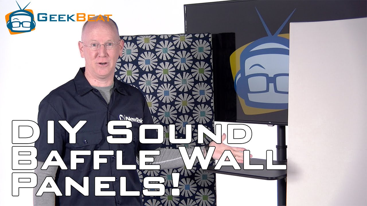 How to Build a Sound Baffle Wall Panel