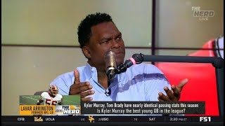 THE HERD   LaVar Arrington react to Belichick on Brown apology: You'll have to talk to Robert