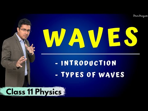 Waves | Types Of Waves | Class 11 Physics