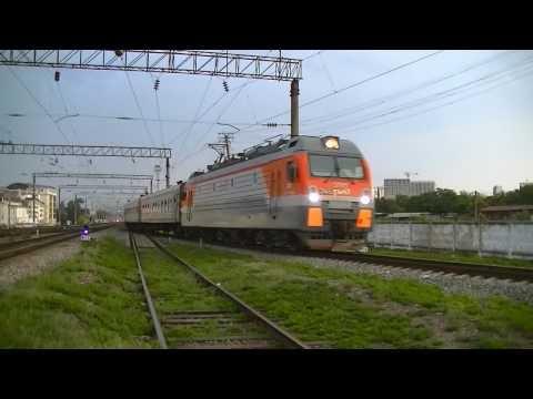 РЖД ЭП1М-745 с поездом Адлер - Киров