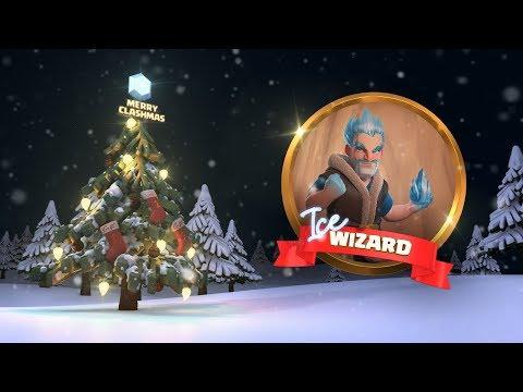 Clash Of Clans: Ice Wizard (Clashmas Update 2017)