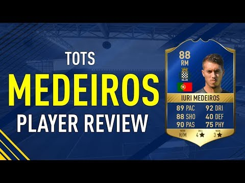 FIFA 17 TOTS MEDEIROS (88) PLAYER REVIEW