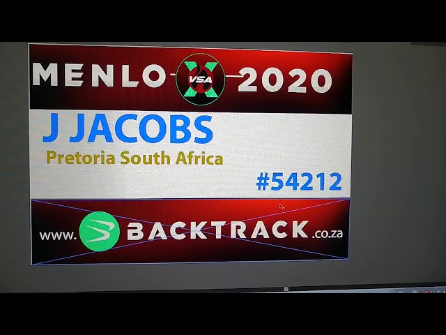 Jacques Jacobs - Menlo virtual schools cross country.