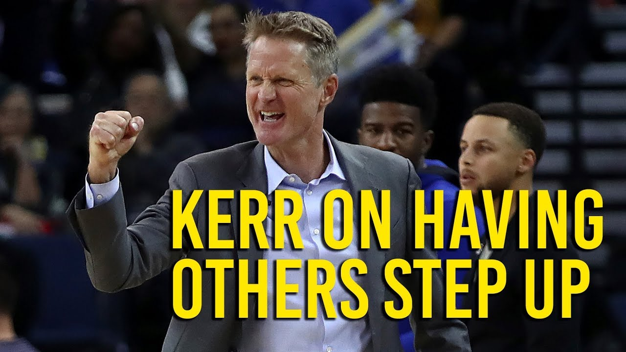 Kerr talks about how bench players had a bigger role versus Lakers