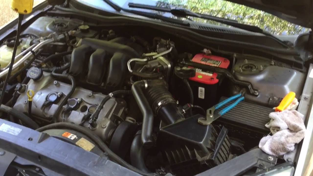 hight resolution of how to 2006 ford fusion 3 0 v6 pcv valve replacement