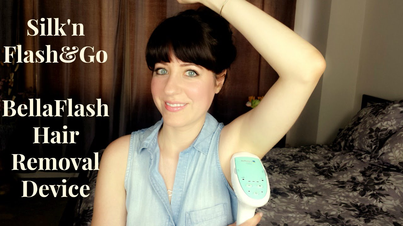 how to use silk n flash and go on face