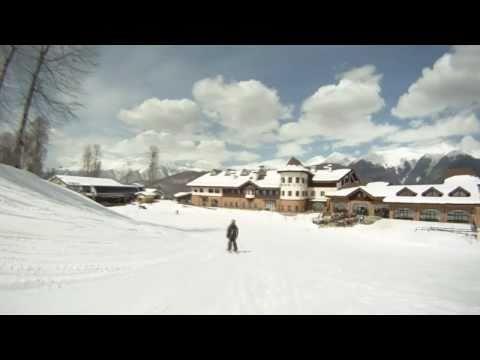Олимпийский объект и горнолыжный Курорт Роза Хутор