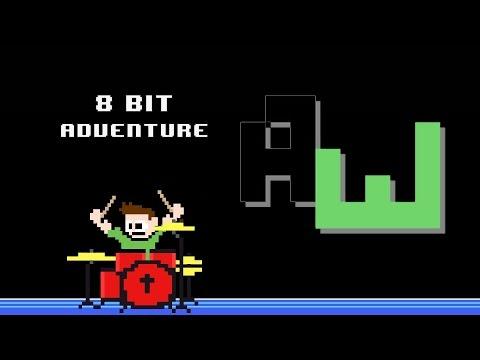 AdhesiveWombat - 8 Bit Adventure (Drum Cover) -- The8BitDrummer