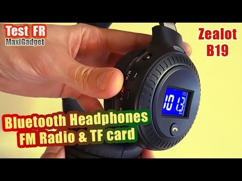 Zealot B19 Wireless Headphones: Unboxing and Review